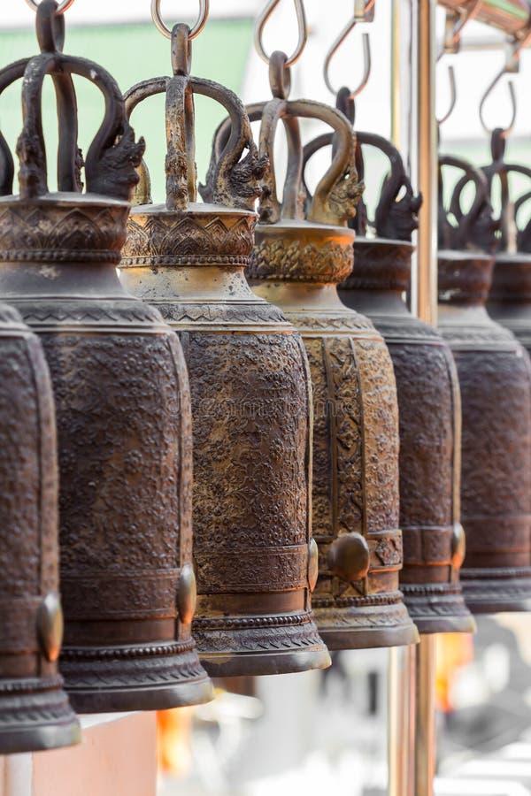 Stor mässingsklocka royaltyfri fotografi