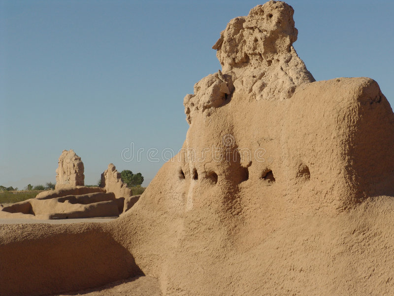 Download Stor Monumentnational För Casa Fotografering för Bildbyråer - Bild av öken, fördärvar: 283093
