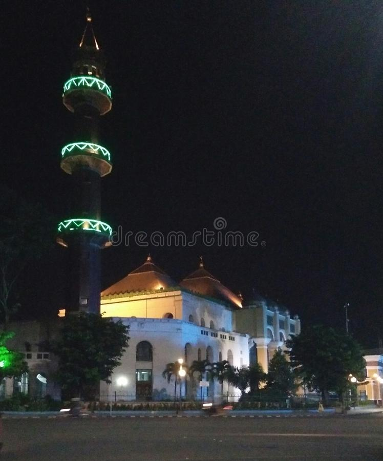 stor moské arkivbild