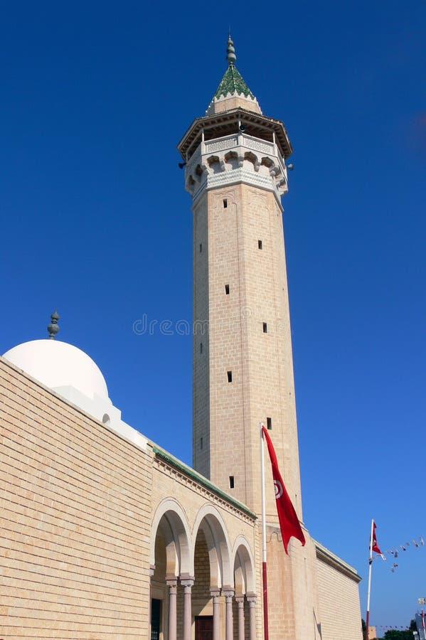 Stor moské i Monastir royaltyfri foto