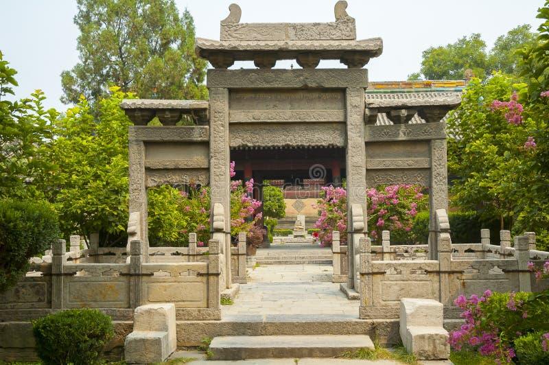 Stor moské, Xian royaltyfria foton
