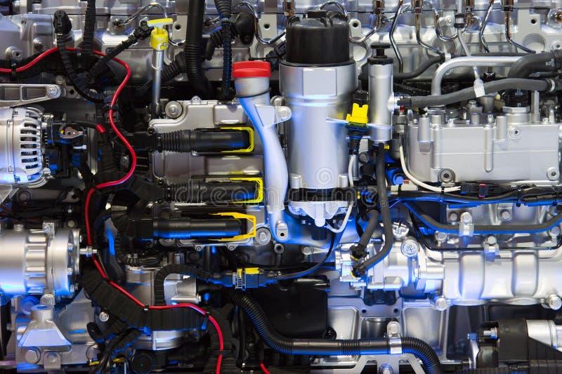 Stor motor royaltyfri bild