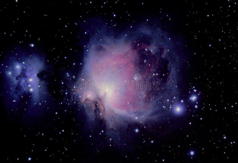 stor nebula arkivbild