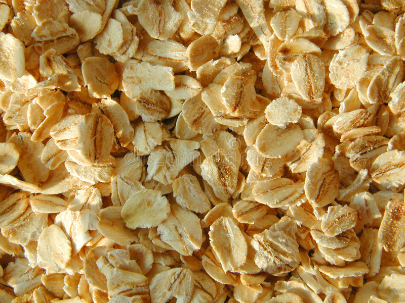 stor oatmeal för flake royaltyfri foto