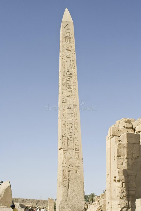 stor obelisk royaltyfria bilder