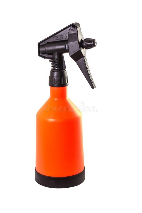 Stor orange pulverizer arkivfoton