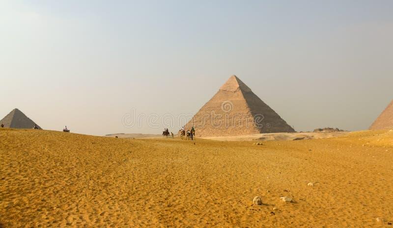Stor pyramid royaltyfria bilder