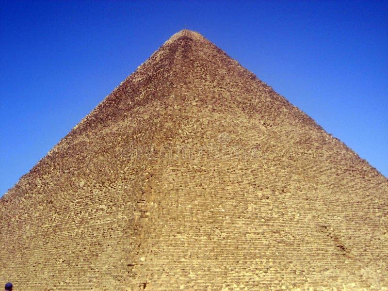 stor pyramid arkivfoto