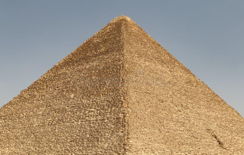 Stor pyramid av Giza i det Giza pyramidkomplexet, Kairo, Egypten fotografering för bildbyråer