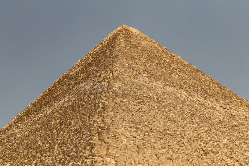 Stor pyramid av Giza i det Giza pyramidkomplexet, Kairo, Egypten royaltyfri fotografi