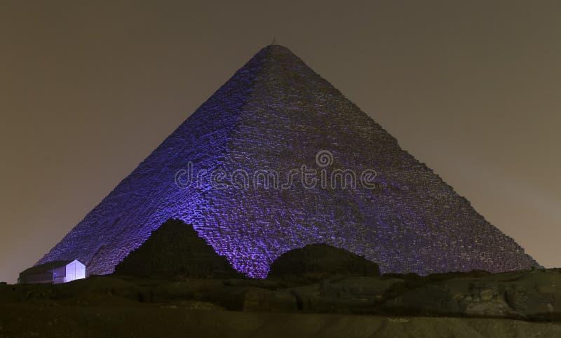 Stor pyramid av Giza i Kairo, Egypten royaltyfri foto