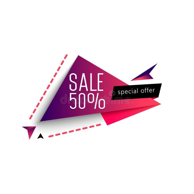 Stor Sale helg baner upp till 50 för specialt erbjudande av också vektor för coreldrawillustration vektor illustrationer