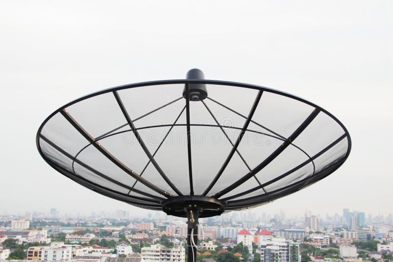 Stor satellit arkivfoton