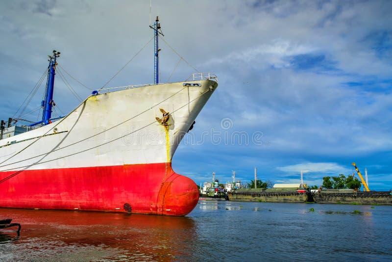 stor ship för last royaltyfri bild