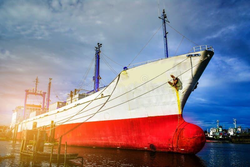 stor ship för last arkivbild