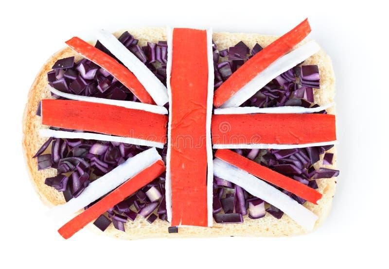 Stor Smörgås För Britain Flagga Royaltyfri Fotografi