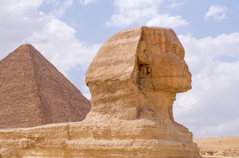 stor sphinx royaltyfri bild