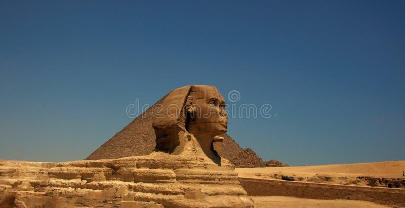 stor sphinx för 2 giza arkivbild