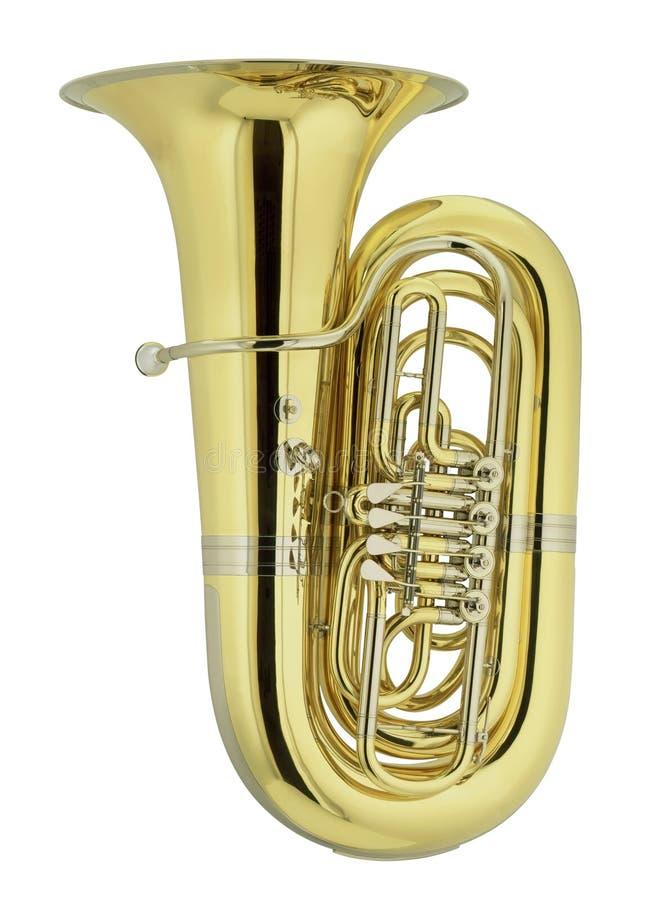 stor tuba royaltyfri foto