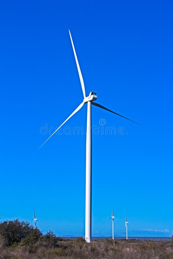 stor turbinwind royaltyfria bilder