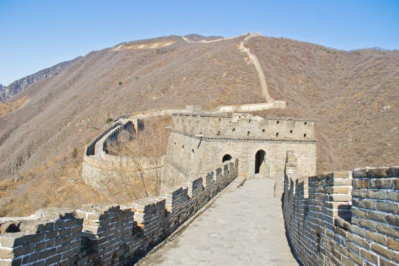 Stor vägg av Kina royaltyfria foton