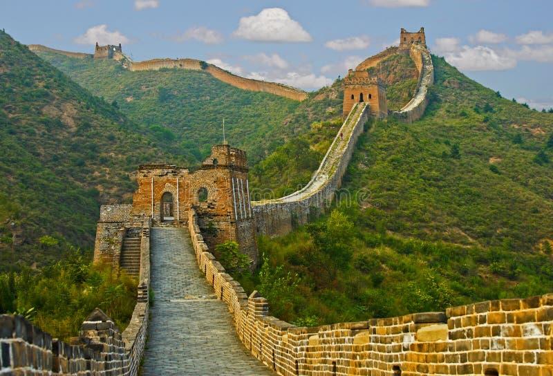 Stor vägg av Kina royaltyfri bild