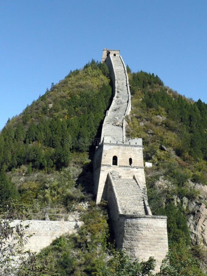 stor vägg för bergskammar arkivfoto
