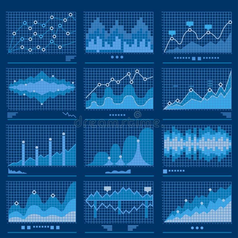Stor vektor för Analytics för dataritningdata stock illustrationer