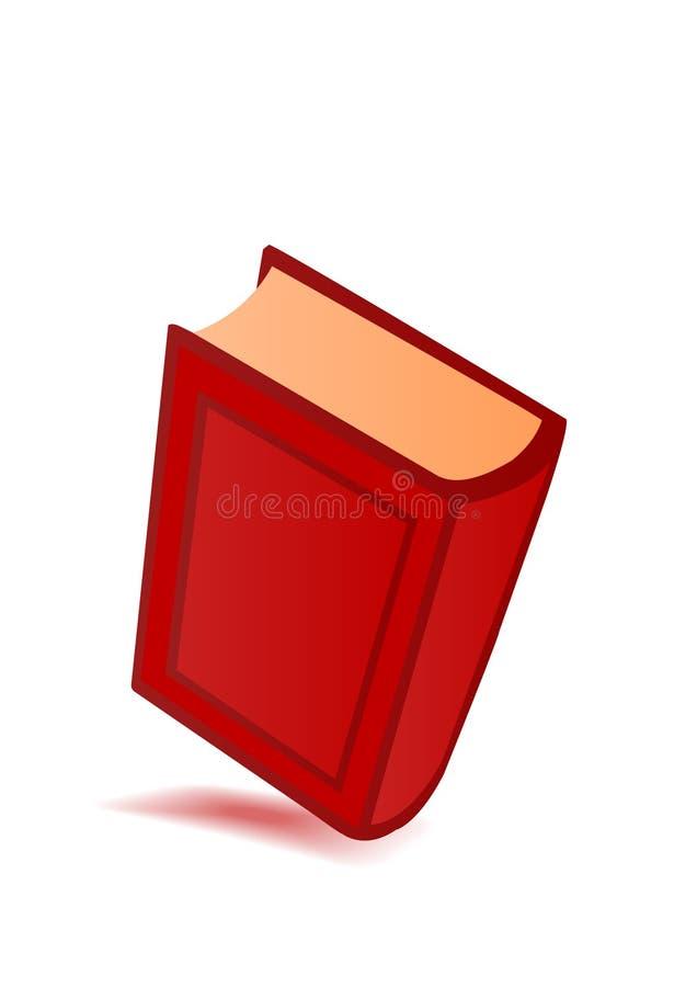 stor vektor för red för bokillustration stock illustrationer