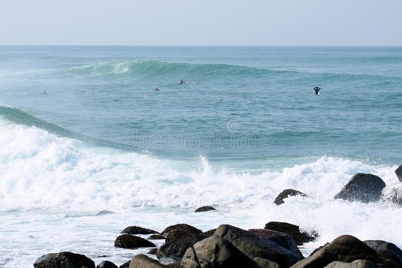 stor wave royaltyfri foto