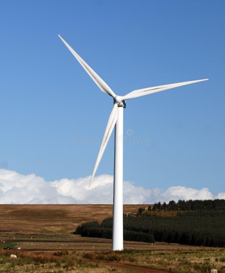 stor wind för generator arkivbilder