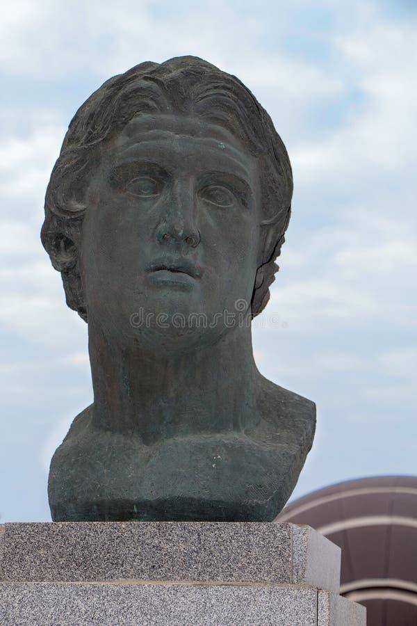 stora alexander arkivbild