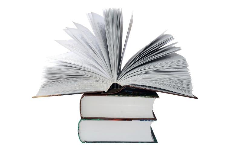 stora böcker arkivbilder