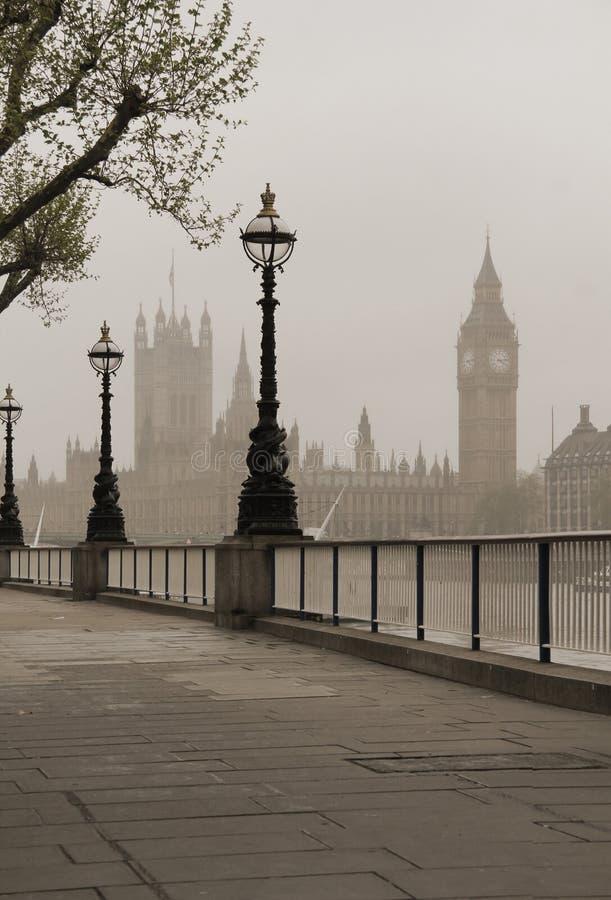 Stora Ben & hus av parlamentet arkivfoton
