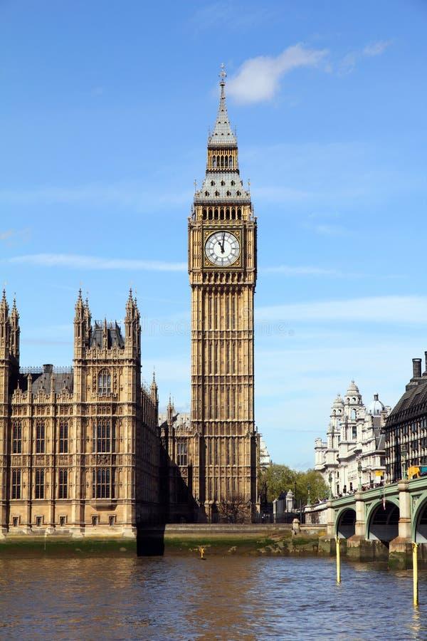 Stora Ben i London royaltyfri foto