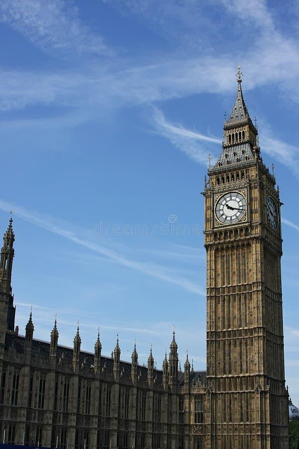 Stora Ben i London arkivfoto