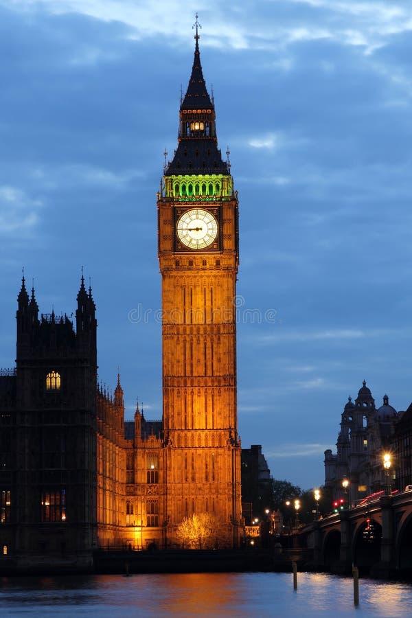 Stora Ben. London royaltyfri fotografi