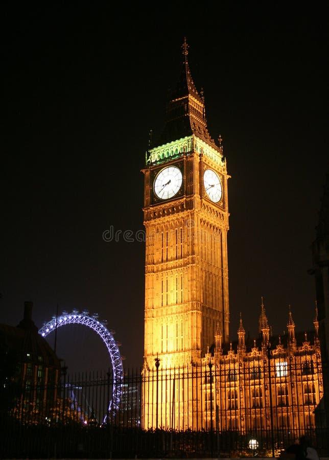 Stora Ben London royaltyfri bild