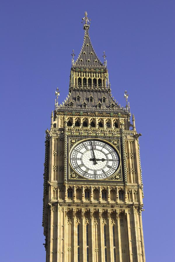 Stora Ben, Westminster, London arkivbilder
