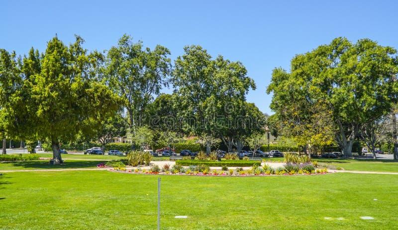 Stora Beverly Hills undertecknar in Los Angeles - LOS ANGELES - KALIFORNIEN - APRIL 20, 2017 royaltyfri fotografi