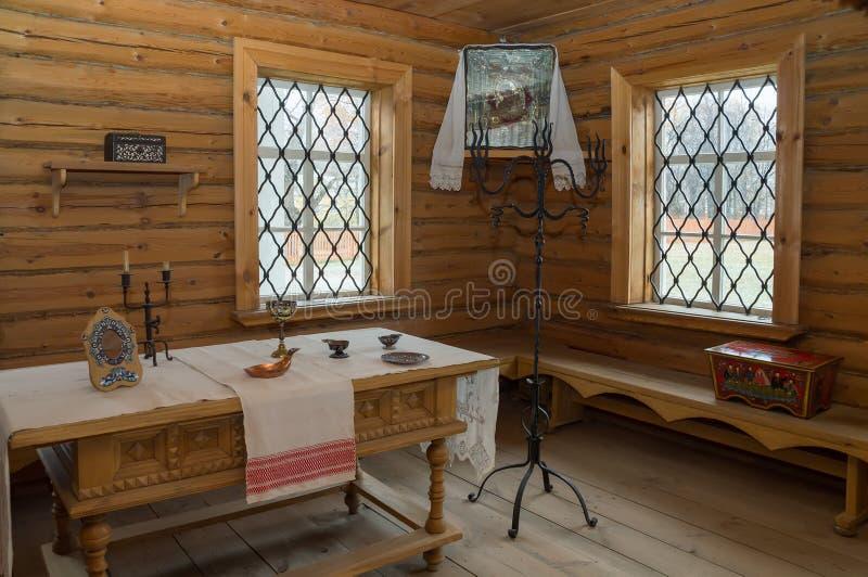 Stora Boldino Pushkin museumutläggning av sagor royaltyfri foto