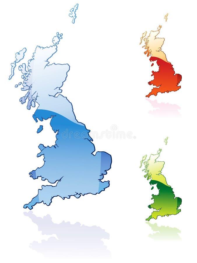 stora britain royaltyfri illustrationer