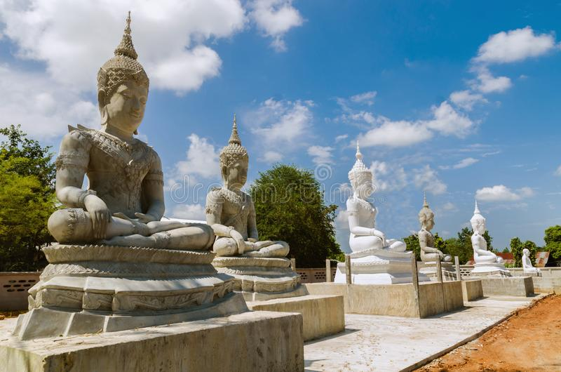 Stora buddha royaltyfri fotografi