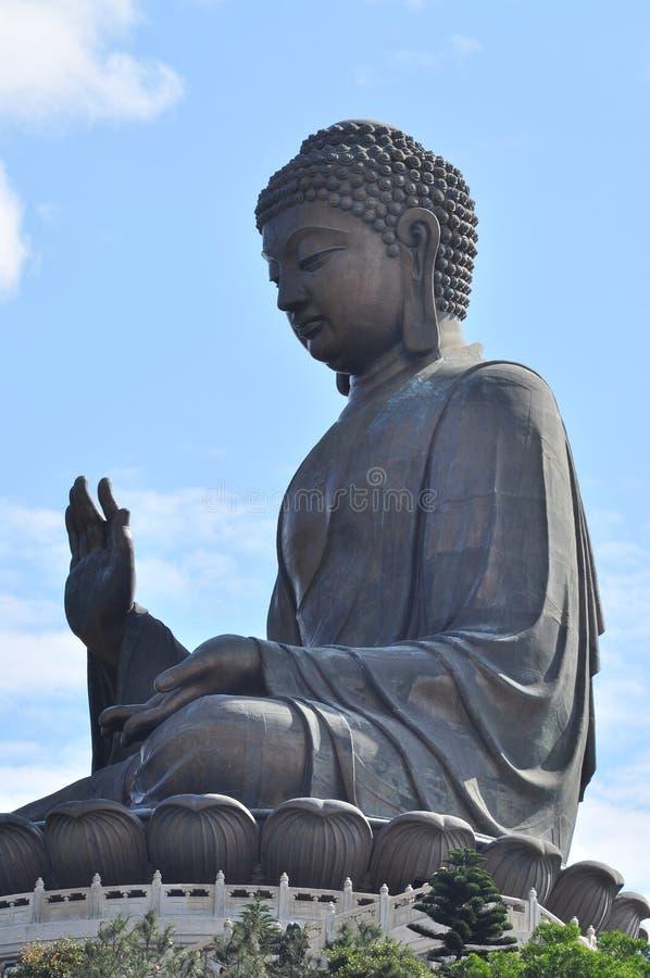 stora buddha Hong Kong royaltyfri fotografi