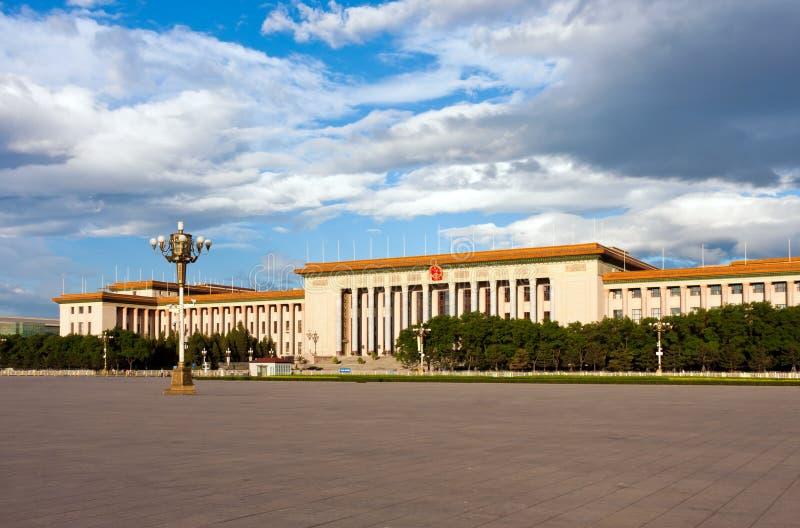 Stora Hall av folket, Beijing fotografering för bildbyråer