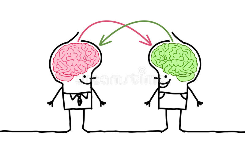 Stora hjärnmän & utbyte