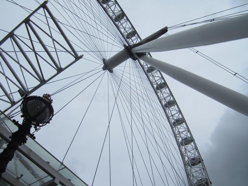 Stora London öga royaltyfri foto