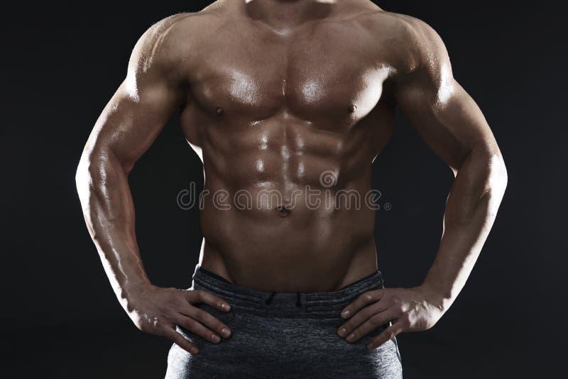 stora muskler royaltyfria foton