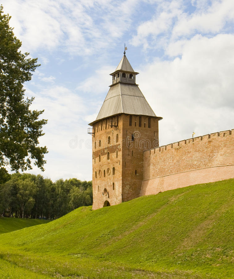 Stora Novgorod, Ryssland arkivbilder