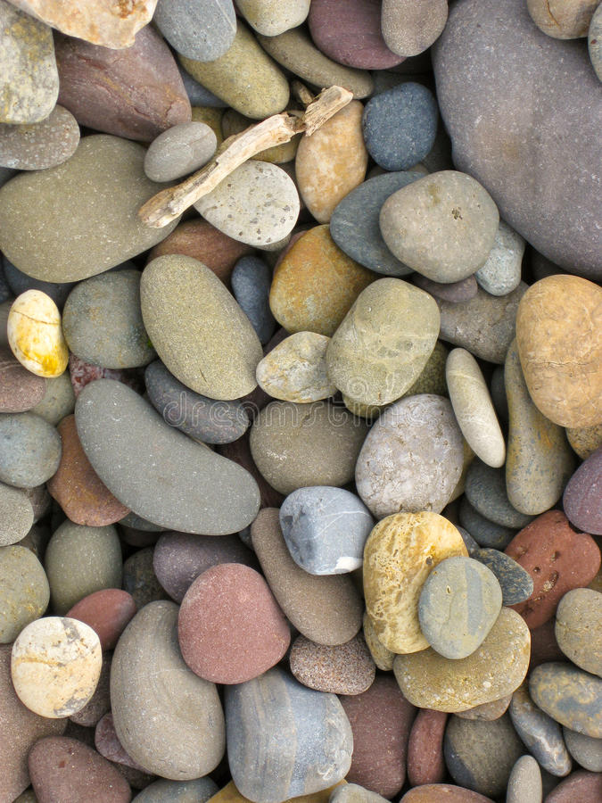 stora pebbles royaltyfri bild